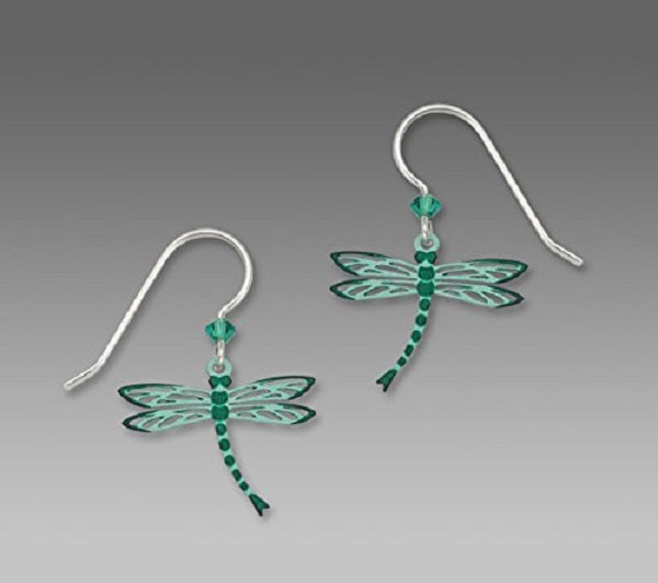 Sienna Sky Teal Dragonfly Earrings