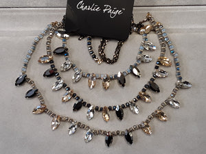 Charlie Paige Crystal Necklace