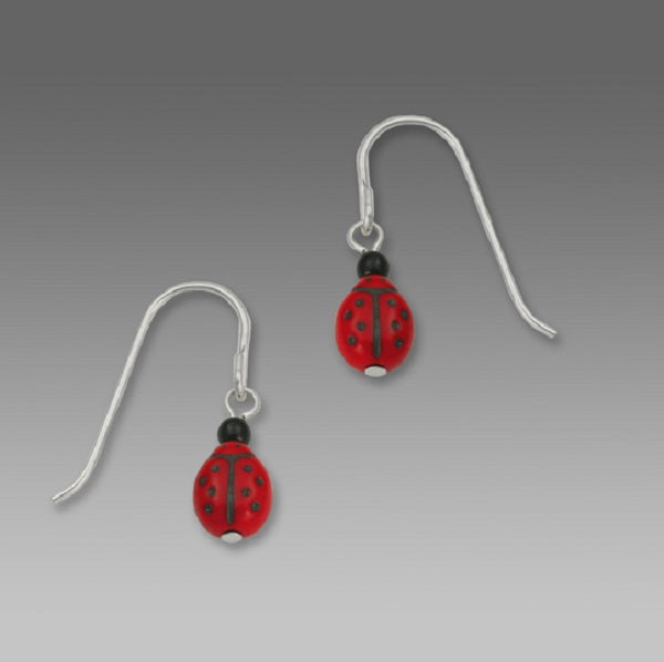 Sienna Sky Ladybug Drop Earrings
