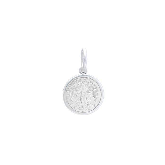 Lola Angel Pendant-Alpine White, Mini