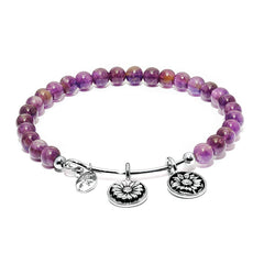 Amethyst Believe Daisy Bangle
