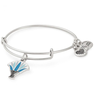 Alex and Ani Blue Lotus Bracelet