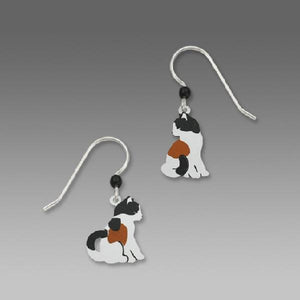 Sienna Sky Calico Cat earrings