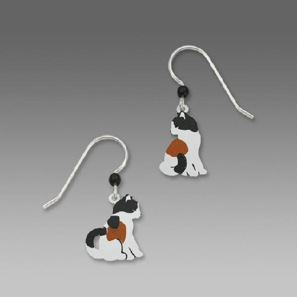 Sienna Sky Calico Kitty Earrings