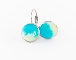 Shoreline Dangle Earrings Lewes Sand