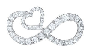 Le Stage Clasp, Dazzling Eternal Love Pave