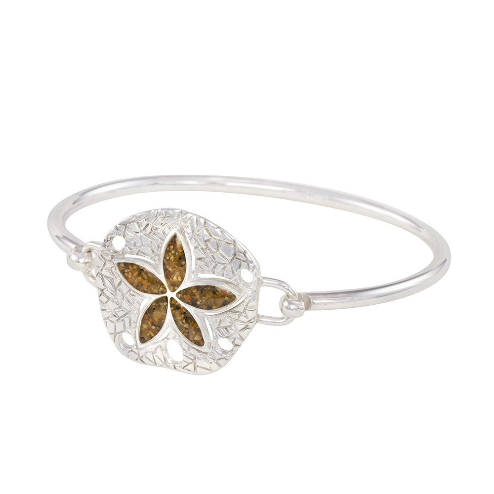 Dune Lewes Beach Sandollar Bangle