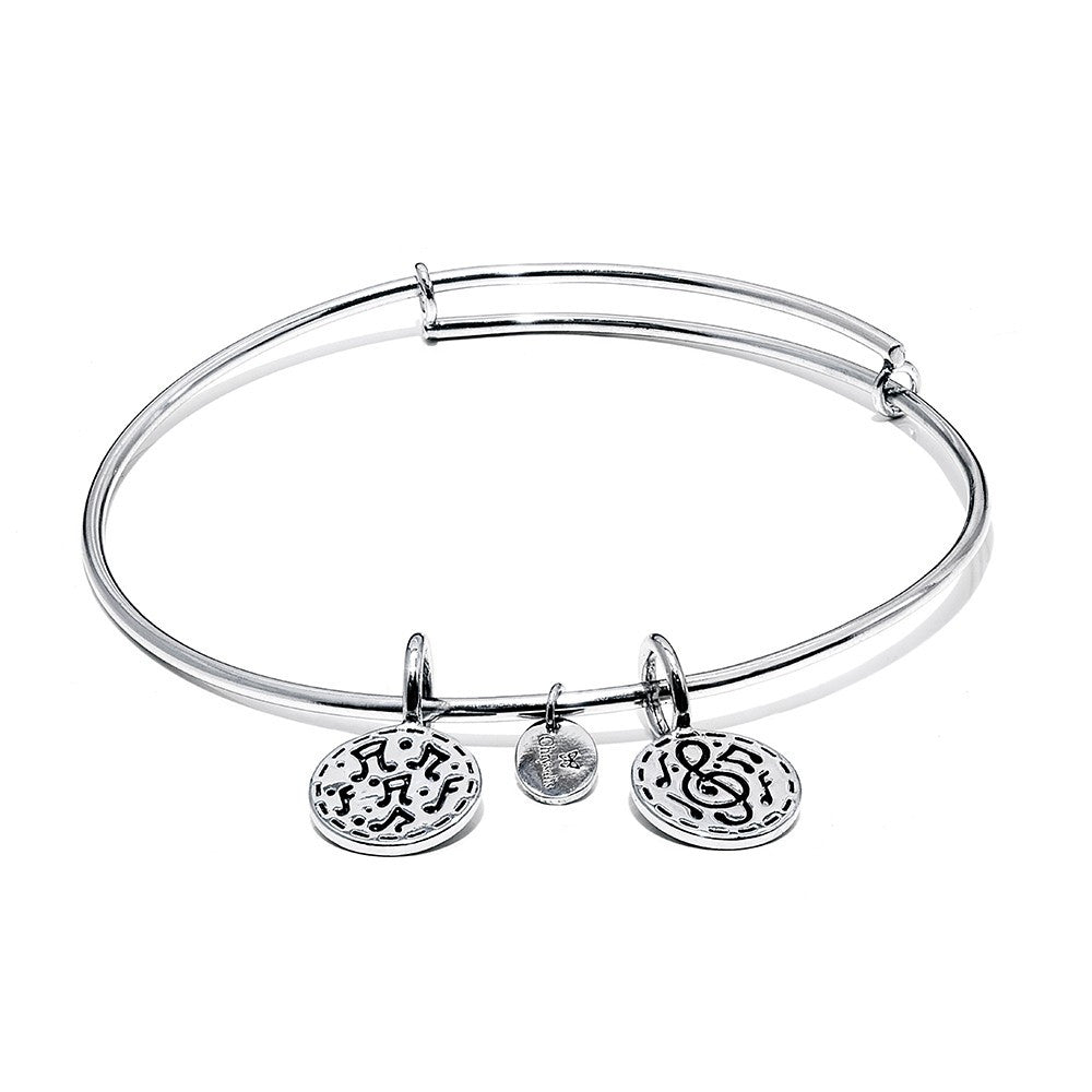 Festival Expandable Bangle - Silver