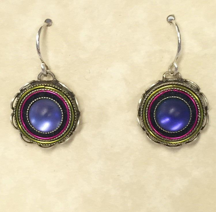 Firefly Round Earrings