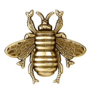 Colby Davis Gold Bee Pendant - Small Vermeil