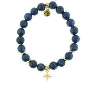 T. Jazelle Kyanite Gold Your Year Bracelet