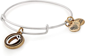 "Alex and Ani ""O"" Initial Bracelet"