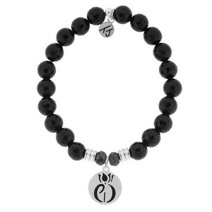 T. Jazelle Onyx Parkinsons Awareness Bracelet