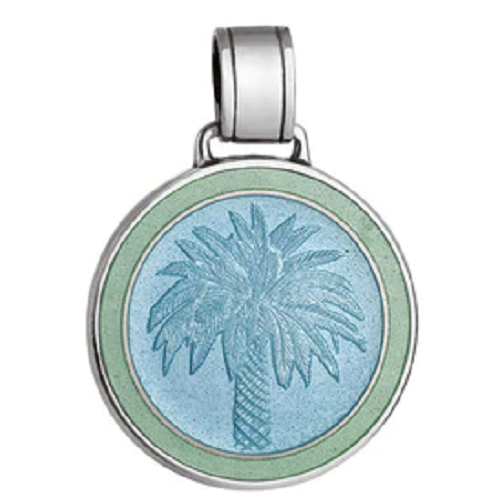 Colby Davis Palm Tree Pendant - Large