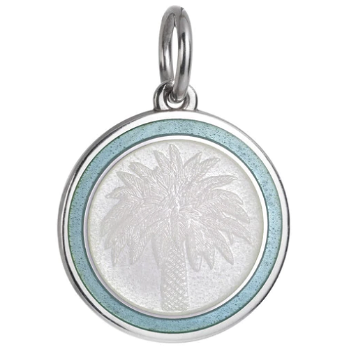 Colby Davis Palm Tree Pendant - Medium