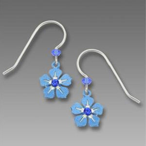 Sienna Sky Blue Blossom Earrings