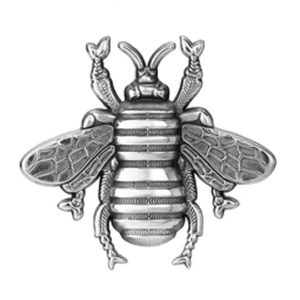 Colby Davis Sterling Silver Bee Pendant - Small