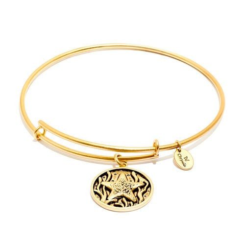 Starfish Expandable Bangle - Gold