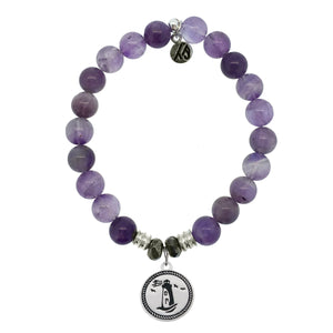 T. Jazelle Amethyst Lighthouse Bracelet