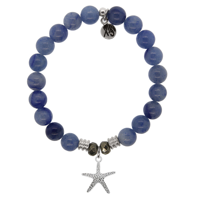 T. Jazelle Blue Adventurine Starfish Bracelet