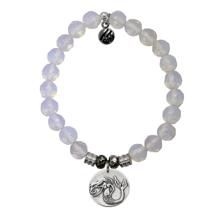 T. Jazelle White Opal Mermaid Bracelet