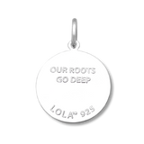 Lola Tree of Life Pendant-Gold Center, Medium