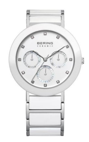 Women's White Ceramic Bering Watch