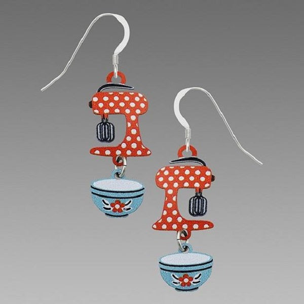 Sienna Sky Stand Mixer and Bowl Earrings