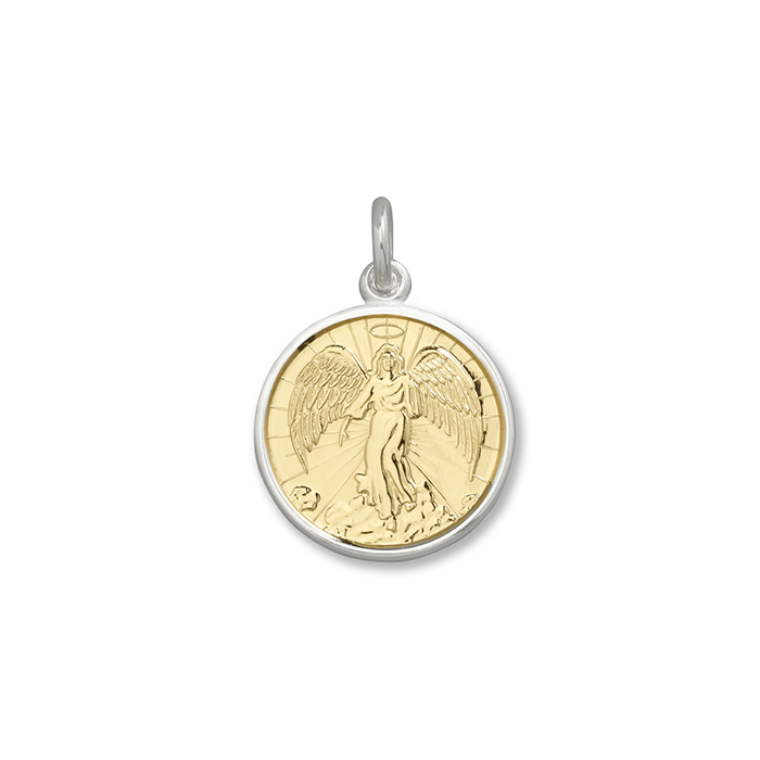 Lola Angel Pendant-Gold, Small