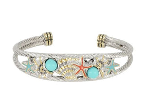 Caraíba Collection Double Wire Cuff Bracelet