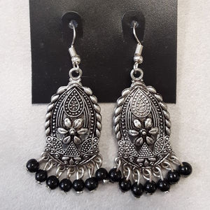Charlie Paige Boho Earrings Black