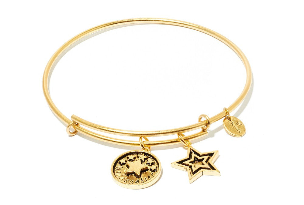 Goddaughter Expandable Bangle - Gold