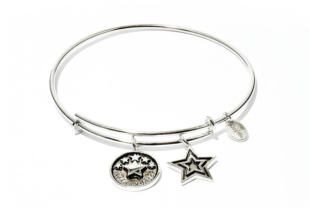 Goddaughter Expandable Bangle - Silver