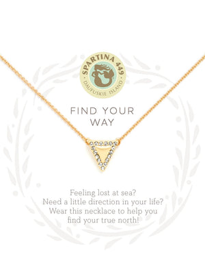 SEA LA VIE FIND YOUR WAY NECKLACE