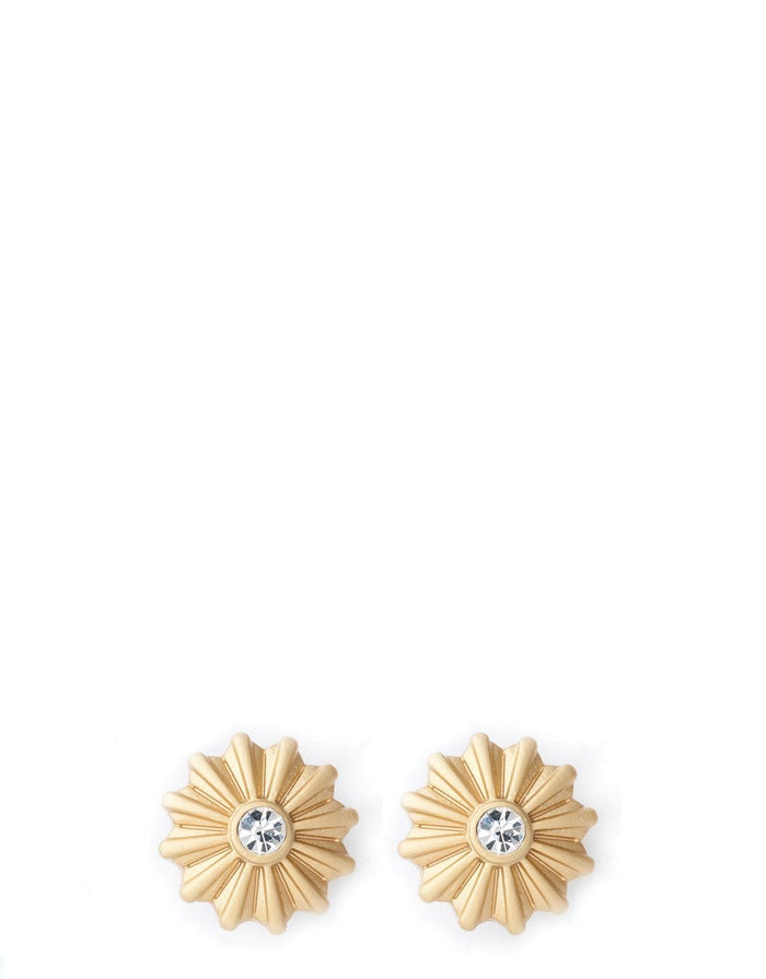 SEA LA VIE CELEBRATE GOLD STUD EARRINGS