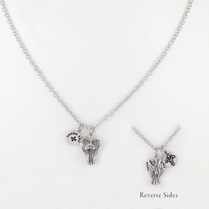 JOHN MEDEIROS Angel of Heros NECKLACE