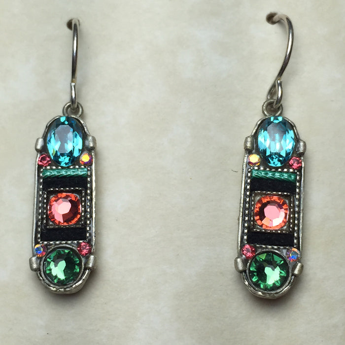 Firefly Oblong Earrings