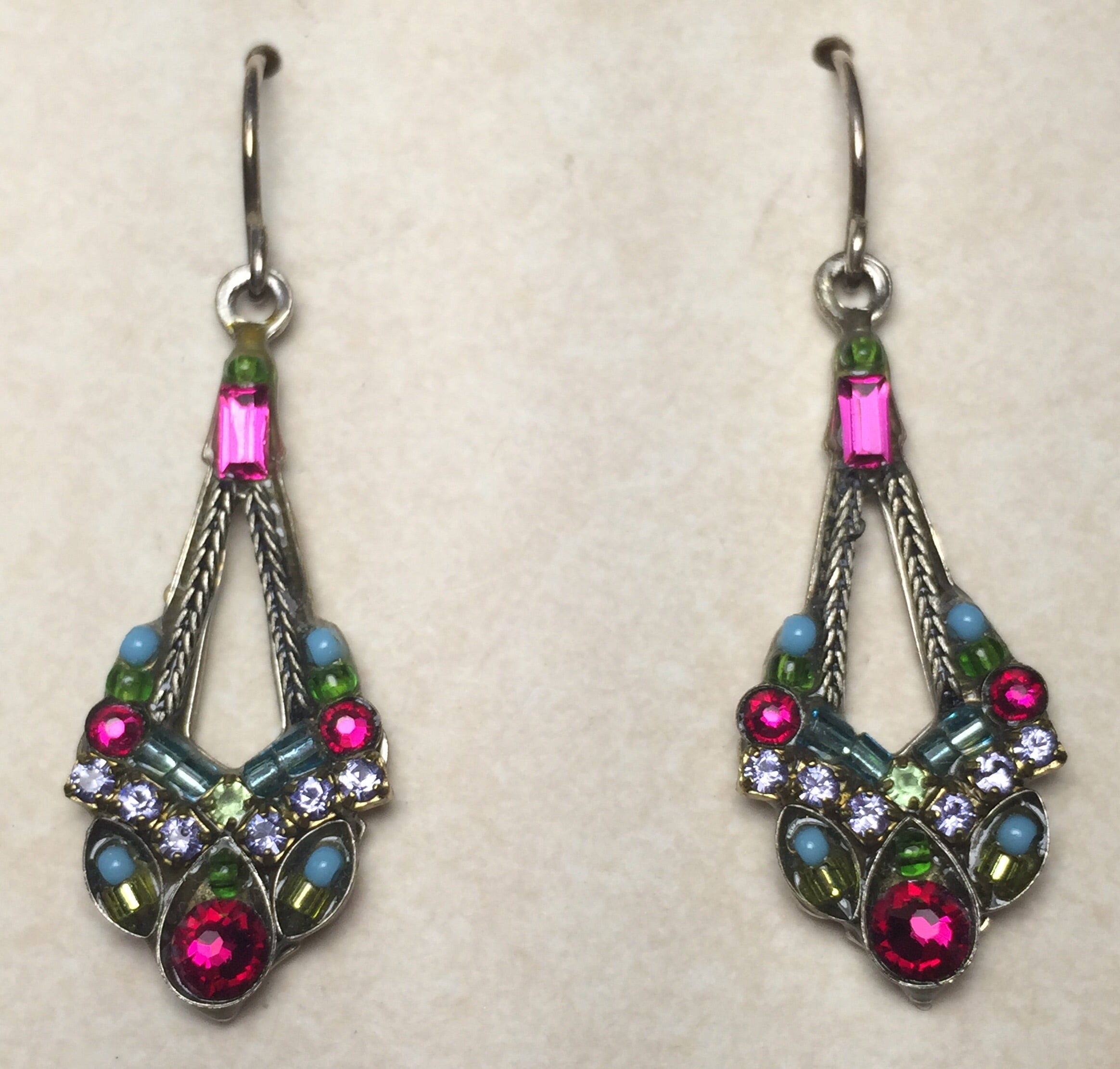 Firefly drop earring