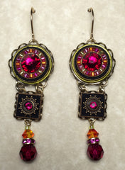 Firefly 3-tier drop earring