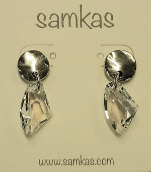 Samkas Crystal Earrings