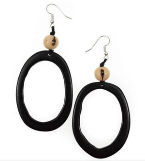 Tagua Jesse Earrings