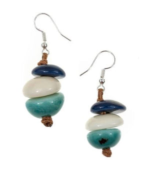 Tagua Karin Earrings