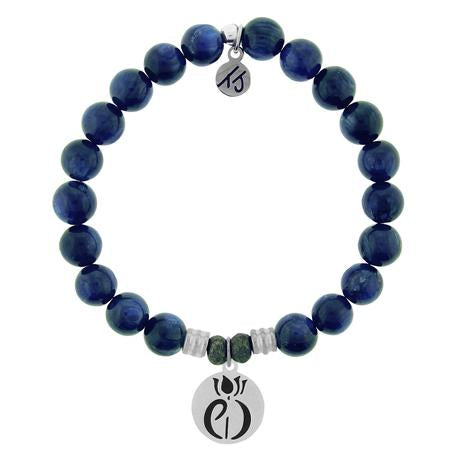T. Jazelle Kyanite Parkinsons Awareness Bracelet