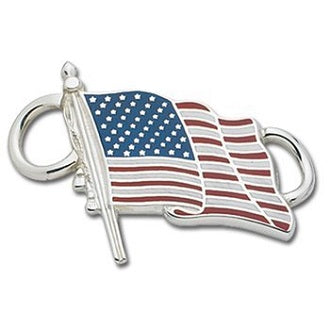 Le Stage Clasp, U.S. Flag