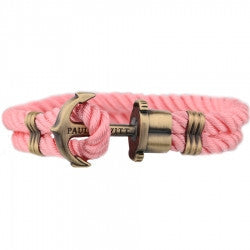 PAUL HEWITT PHREP Anchor Bracelet Light Pink