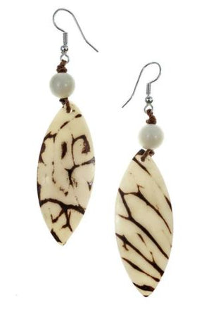 Tagua Luz Earrings