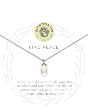 SEA LA VIE FIND PEACE NECKLACE