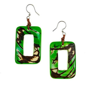 Tagua Pinchincha Earrings