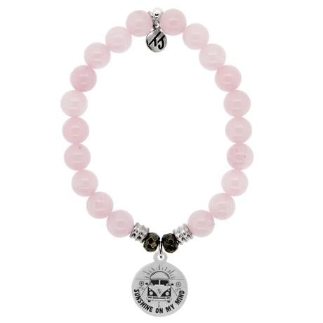 T. Jazelle Rose Quartz A Journey Bracelet