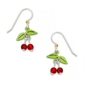 Sienna Sky Cherry Stem Earrings
